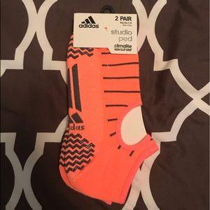 Adidas Studio Ped Non Slip Grip Socks